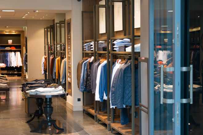 boutique clothes clothing indoors