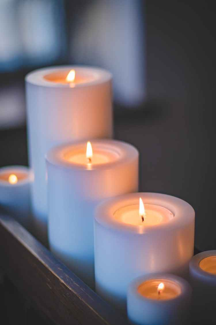 selective focus photography of candles