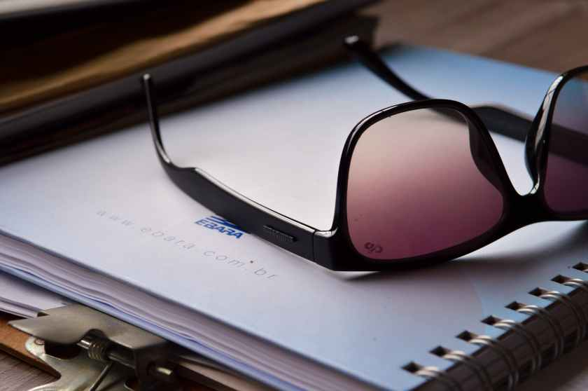 clipboard eyewear notebook paper